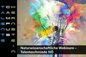 Naturwissenschaftliche Webinare - Talenteschmiede NÖ