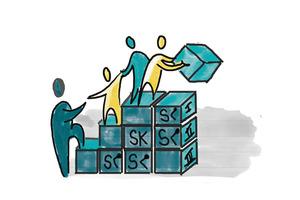 In Gruppen entscheiden mit dem SK-Prinzip