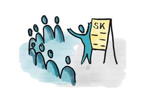 In Gruppen entscheiden mit dem SK-Prinzip (Karlsruhe)