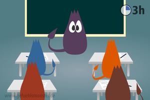 Gefühlsmonster in der Schule