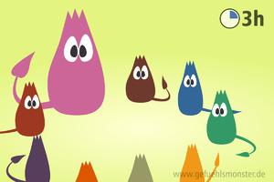 Gefühlsmonster(spiele) in Kindergruppen